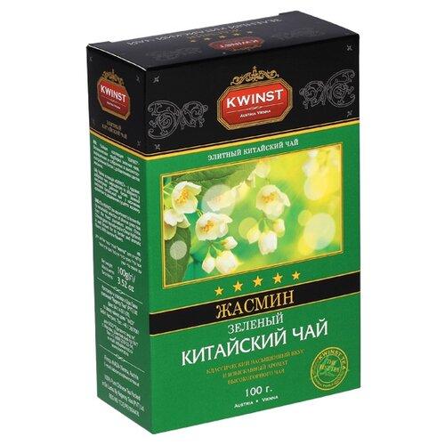 Чай зеленый Kwinst Жасмин, 100 г чай зеленый kwinst китайский 100 пакетиков