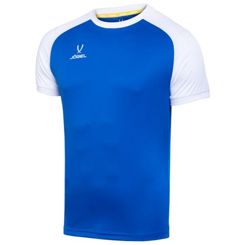 Купить Футболка Jogel размер YL, синий/белый, Футболки и топы