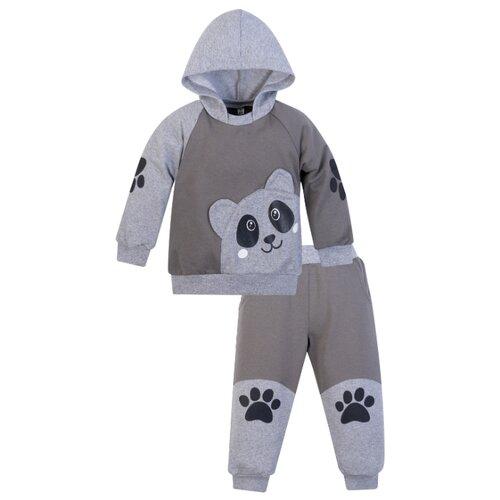 Купить Комплект одежды Утенок размер 92, серый/меланж, Комплекты