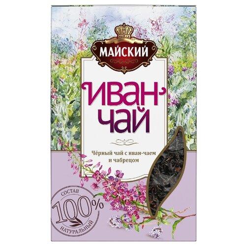 Чай черный Майский Иван-чай с чабрецом, 75 г чай черный sonnentor с чабрецом 90 г