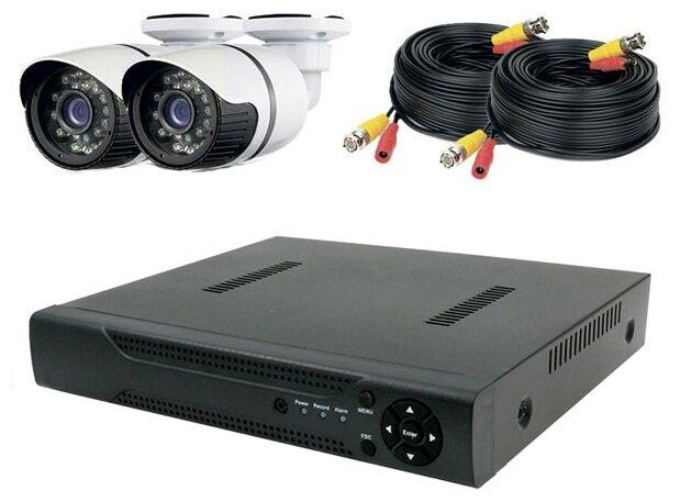 Комплект видеонаблюдения PS-Link KIT-С502HD 2 камеры