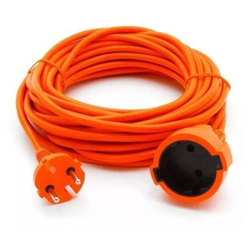 Удлинитель силовой шнур PEK 1300Вт 50м без заземления 1гнездо Пан электрик 28659 2