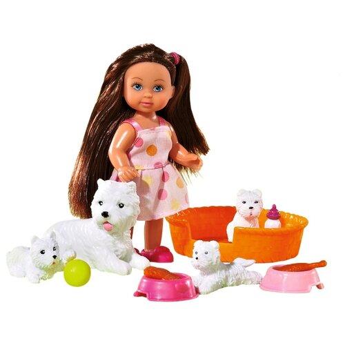 Купить Набор Simba Еви с собачками, 5734191-2, Куклы и пупсы