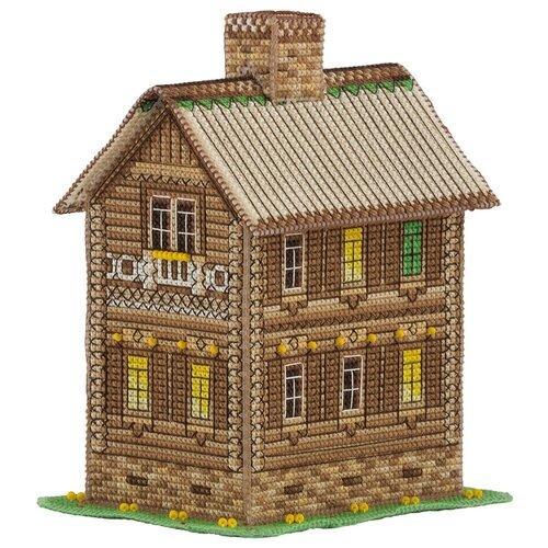 Купить PANNA Набор для вышивания Домик уюта и тишины 8.5 х 13.5 х 11 см (IG-1574), Наборы для вышивания