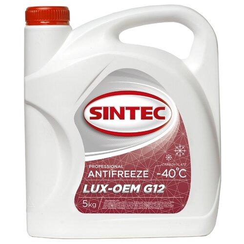 Фото - Антифриз SINTEC LUX G12 -40 5 кг антифриз sibiria антифриз 40 g 11 красный 5 кг