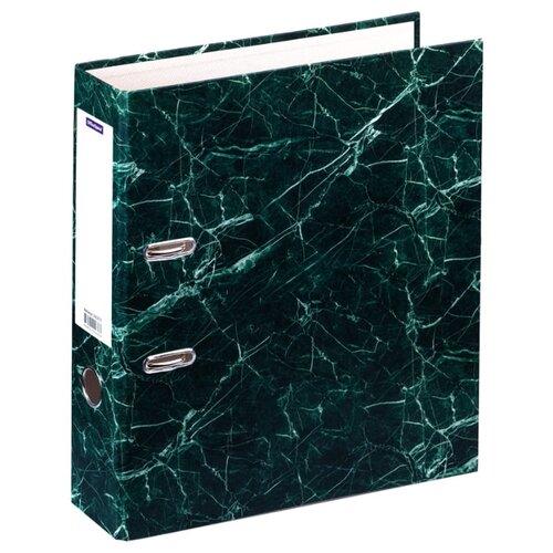 Купить OfficeSpace Папка-регистратор A4, мрамор, 70 мм зеленый, Файлы и папки