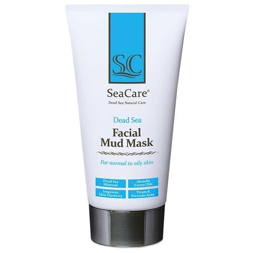 SeaCare Омолаживающая грязевая маска с минералами Мертвого Моря и растительными экстрактами Dead Sea Facial Mud Mask, 150 мл недорого