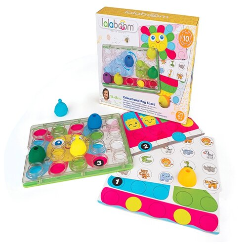 Фото - Развивающая игрушка lalaboom BL710 разноцветный развивающая игрушка mapacha суперкуб разноцветный
