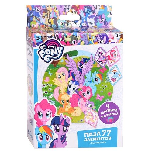 Купить Пазл Origami My Little Pony Выходной (04371), 77 дет., Пазлы