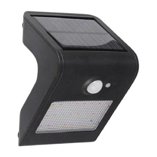 светильник horoz 021 005 0001 spectrum HOROZ ELECTRIC Настенный светильник на солнечных батареях Sirius 078-012-0001, 1 Вт, цвет арматуры: черный, цвет плафона черный