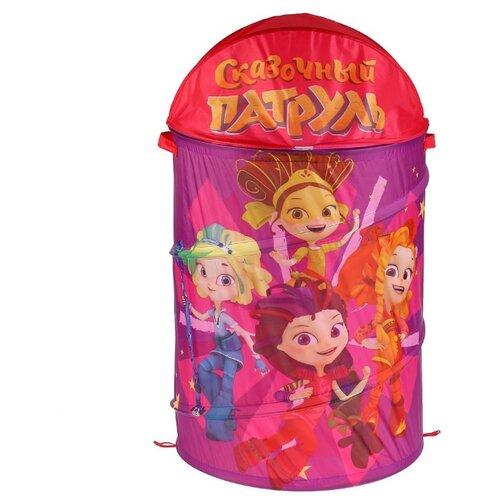 Купить Корзина Играем вместе Сказочный патруль 43х60 см (XDP-17922-R) фиолетовый, Хранение игрушек