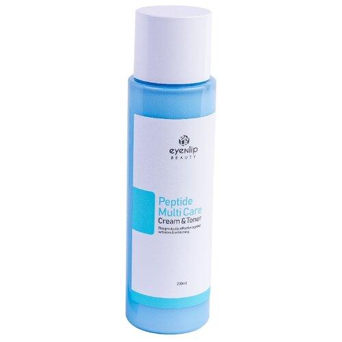 Eyenlip Peptide Multi Care Cream & Toner Тонер-крем с пептидами для лица, 200 мл антивозрастной тонер для лица с пептидами bio ex cell peptide toner 130мл