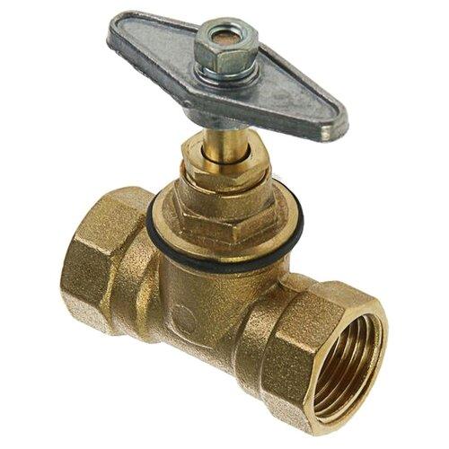 Фото - Запорный клапан Никифоров 0757.2 муфтовый (ВР/ВР), латунь Ду 15 (1/2) запорный клапан зубр ширефит 51571 20 муфтовый вр вр ду 20 3 4