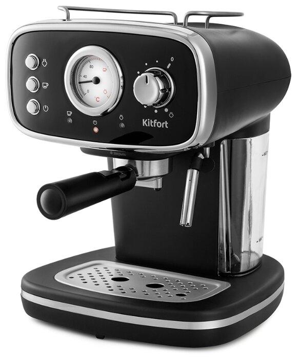 Кофеварка рожковая Kitfort KT-736 фото 1