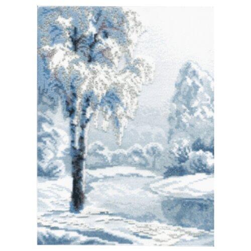 Купить Crystal Art Набор для вышивания Берёза 21 х 28.5 см (М-11), Наборы для вышивания