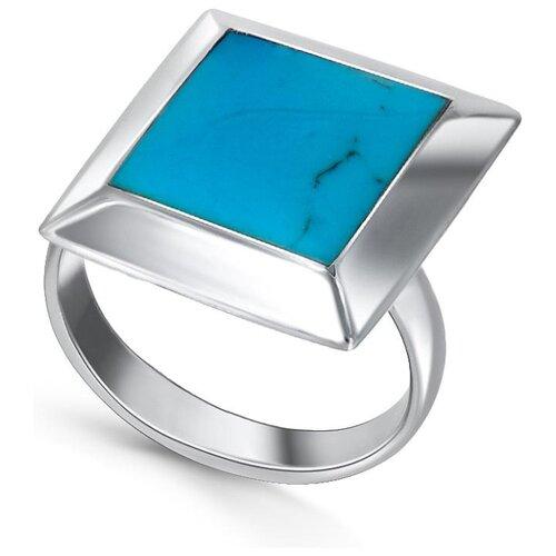 Silver WINGS Кольцо с бирюзой из серебра 21jr30097-28, размер 17 silver wings кольцо с бирюзой из серебра 21set10724 113 размер 17