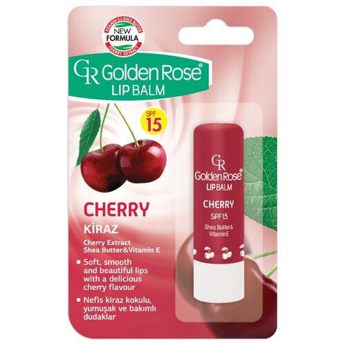Golden Rose Бальзам для губ Вишня SPF 15