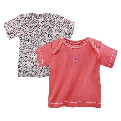Футболка Наша мама размер 74, коралловый, Футболки и рубашки  - купить со скидкой
