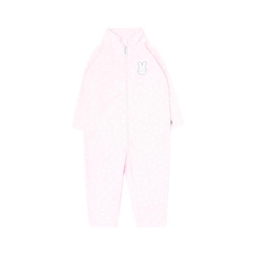 Комбинезон crockid ФЛ 60001/н/36 ГР, размер 104, нежно-розовый, снежки