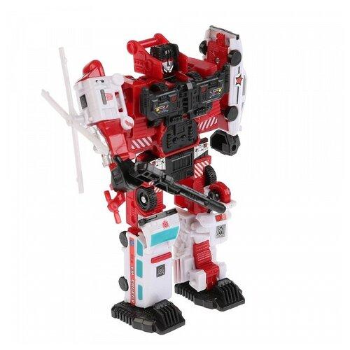 Купить Трансформер Play Smart Огнеборец 8007 красный/черный/белый, Роботы и трансформеры