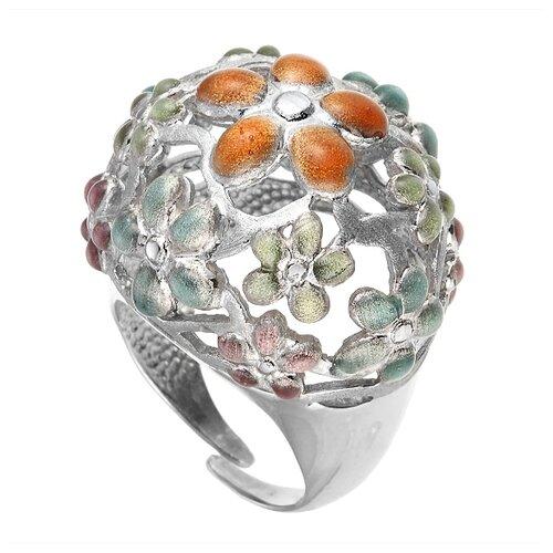 ELEMENT47 Широкое ювелирное кольцо из серебра 925 пробы ZAN194-YB_WG, размер 17.75