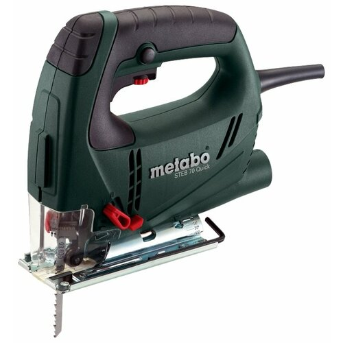 Электролобзик Metabo STEB 70 Quick кейс 570 Вт metabo steb 70 quick 601040000