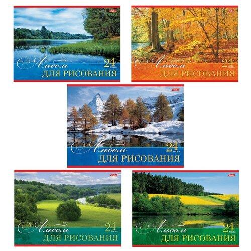 Альбом для рисования Hatber Русские просторы 29.7 х 21 см (A4), 100 г/м², 24 л.