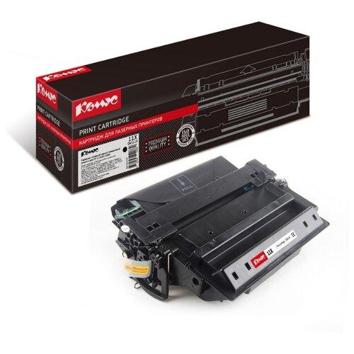 Фото - Картридж лазерный Комус 11X Q6511X черный, повышенная емкость, для HP1320/3390 картридж лазерный комус 49a q5949а черный для нр1160 1320 3390 3392