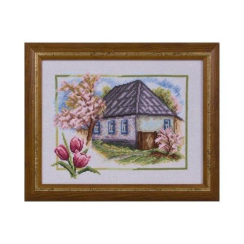 Купить Набор для вышивания Panna Весна в деревне , арт. ПС-0332, 26х20 см, Наборы для вышивания