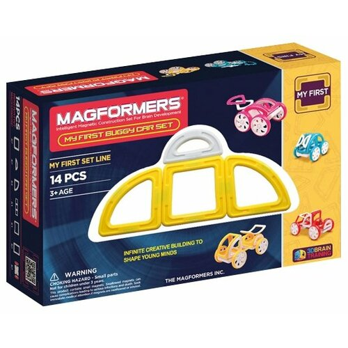 Фото - Конструктор Magformers My First 63144 Желтый багги конструктор magformers my first 63144 желтый багги