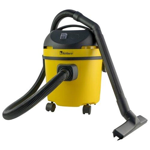 Профессиональный пылесос Kolner KVC 1300 1300 Вт желтый/черный