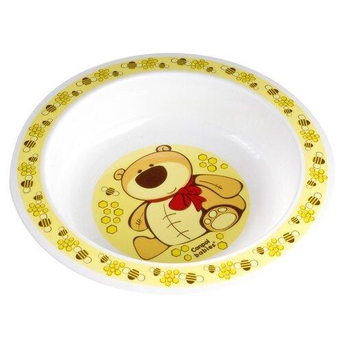 Купить Тарелка Canpol Babies глубокая (4/412) желтый, Посуда