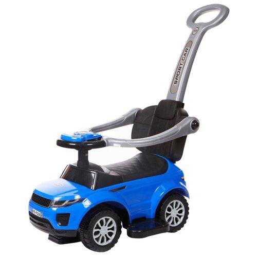 Купить Каталка-толокар Baby Care Sport Car (614W) со звуковыми эффектами синий, Каталки и качалки