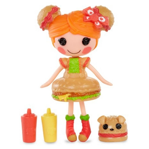 Кукла Lalaloopsy Mini Yummy Гамбурелла 8 см 544562