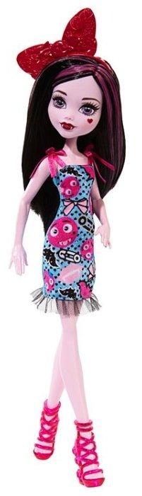 Кукла Monster High Эмодзи Дракулаура, 26 см, DVH18