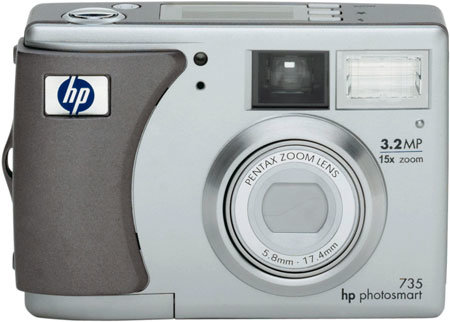 Фотоаппарат HP PhotoSmart 735
