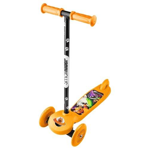 Кикборд Small Rider Cosmic Zoo Scooter оранжевый