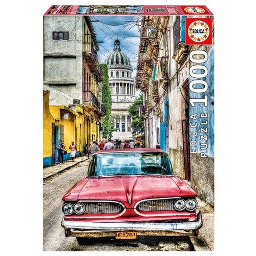 Пазл Educa Винтажное авто в старой Гаване (16754), 1000 дет.Пазлы<br>