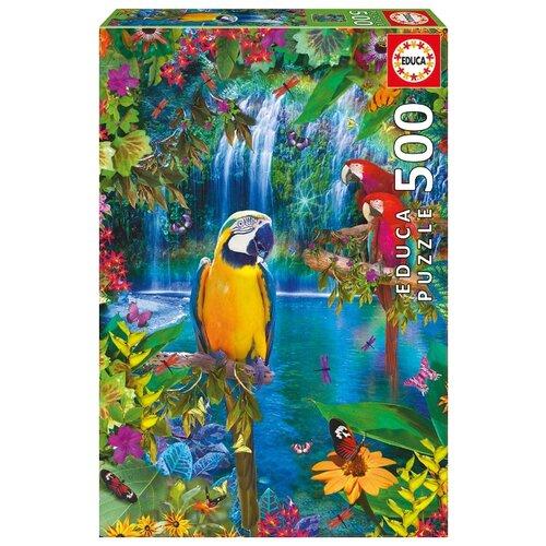 Купить Пазл Educa Тропические птицы (15512), 500 дет., Пазлы