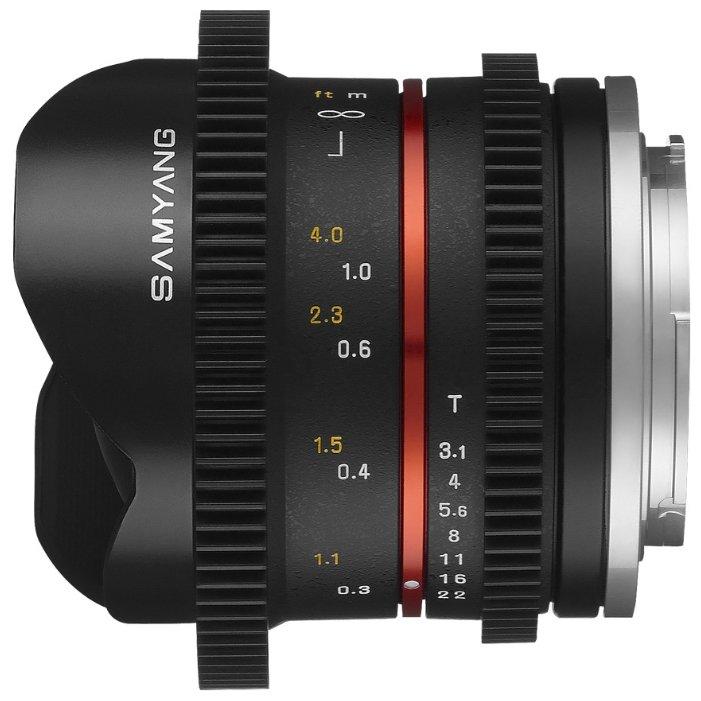 Samyang 8mm T3.1 V-DSLR UMC Fish-eye II Fujifilm X