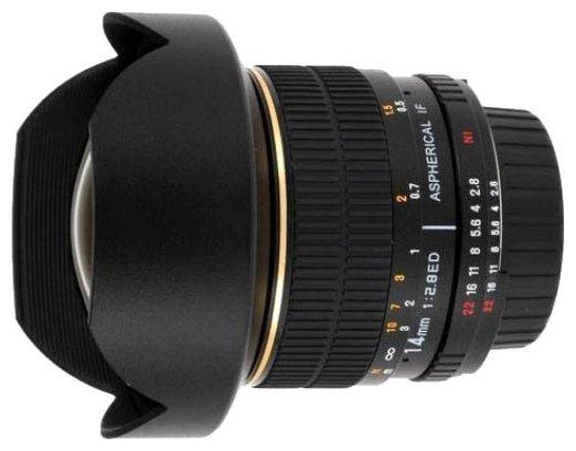 Объектив Bower 14mm f/2.8 Pentax K/KAF/KAF2