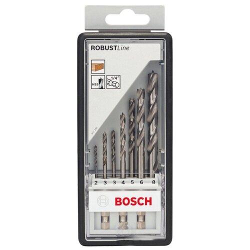 Набор сверл BOSCH Robust Line 2.607.019.923 набор сверл bosch robust line multi construction 2 607 010 521 4 шт