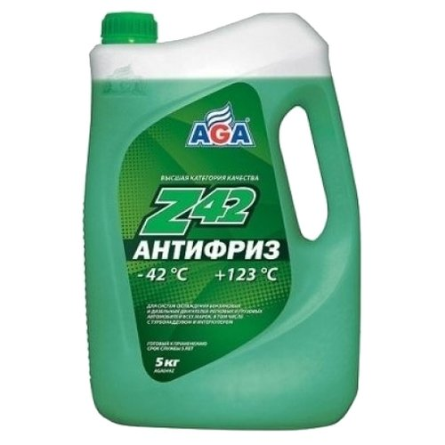 Антифриз AGA Z42 5 кг антифриз aga тосол l40 10 кг