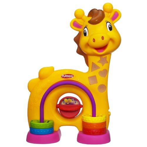 Фото - Интерактивная развивающая игрушка Playskool Жирафик оранжевый игрушка playskool веселый щенок возьми с собой hasbro playskool