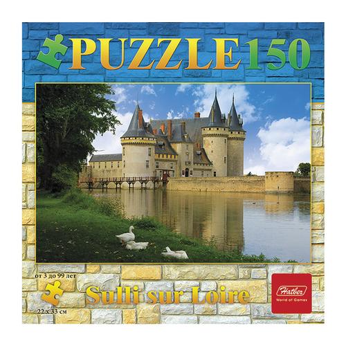 Пазл Hatber Замок с озером (150ПЗ4_08977), 150 дет.