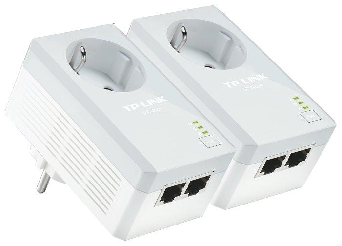 TP-LINK Комплект адаптеров Powerline TP-LINK TL-PA4020P KIT