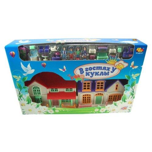 Купить ABtoys кукольный домик В гостях у куклы PT-00117, Кукольные домики