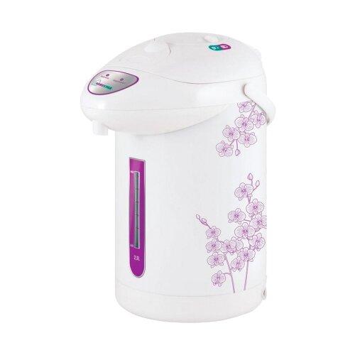Термопот HOMESTAR HS-5001, белый/фиолетовый термопот homestar hs 5001 750вт 2 5л