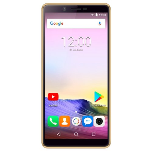 Смартфон teXet TM-5581 золотистый