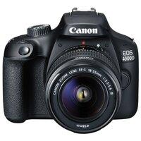Зеркальный фотоаппарат Canon EOS 4000D Kit черный 18-55mm f/3.5-5.6 DC III
